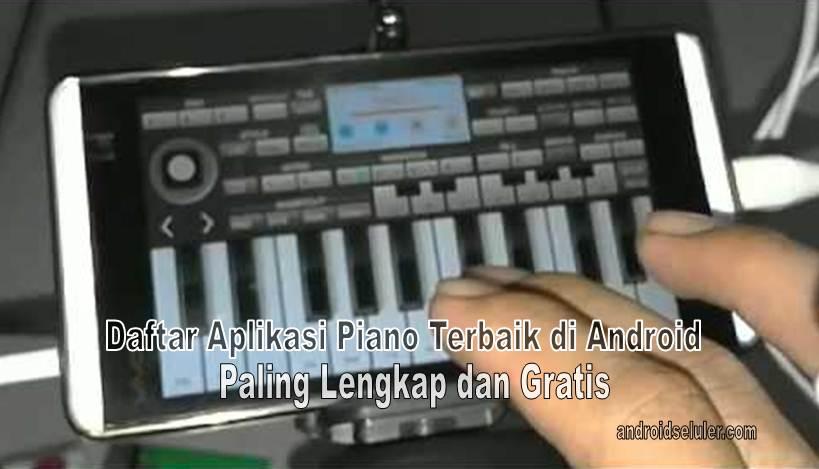 Aplikasi Piano Terbaik di Android