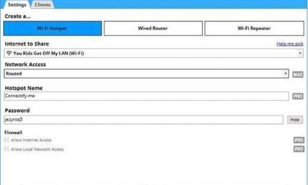 Aplikasi Hotspot Pc Terbaik Download Aplikasi Mhotspot