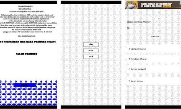 Game Pramuka Seru Permainan Pramuka Siaga Sederhana