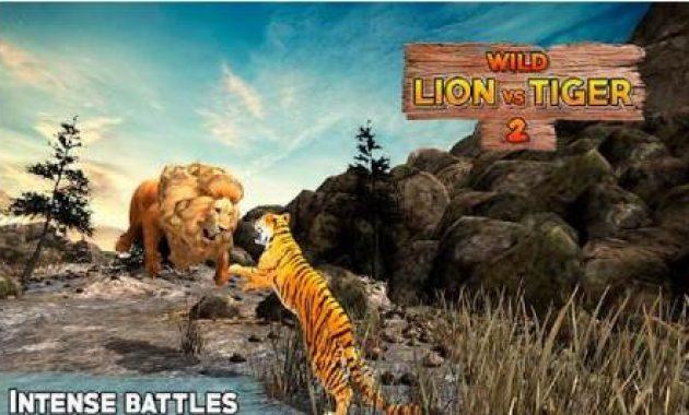 Game Singa Vs Harimau Harimau Putih Vs Raja Singa Sampai Mati Cheetah Vs Harimau