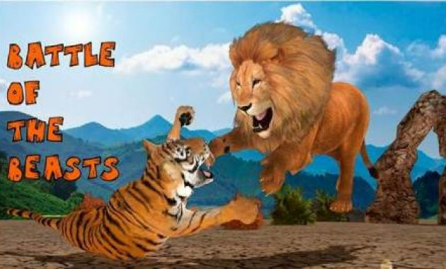 Game Singa Vs Harimau Online Singa Vs Harimau Sumatera