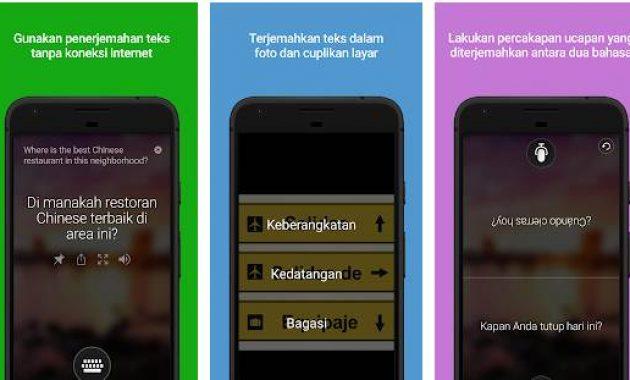 Aplikasi Terjemahan Foto Download Google Translate Translate Bahasa Indonesia Ke Bahasa Inggris Yang Baik Dan Benar