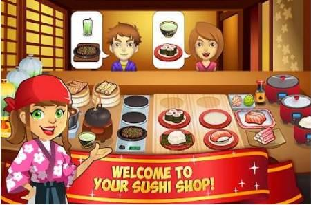 Game Memasak Sushi Jepang Permainan Memasak