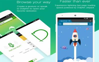 Dolphin Browser Internetan Yang Ringan Dan Super Cepat Di Android