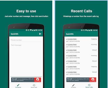 Cara Kirim WhatsApp tanpa Simpan Nomor Tujuan dengan QuickWA