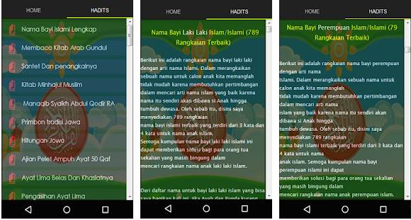 Aplikasi Arti Nama Nama-Nama Bayi Modern & Islami