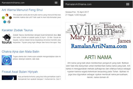 Aplikasi Arti Nama Primbon Arti Nama