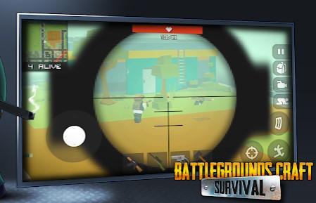 Battle Craft Survival - battle royale simulator