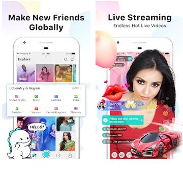 cari teman chatting yang lagi online dengan video chat live straeming