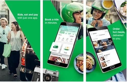 Cara Pesan Grabbike Daftar Online 2 Orang Motor Sekaligus Pesan Makanan Download Gojek Lihat Harga Orang Lain Grabcar Pulang Pergi