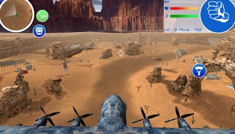 desert battleground, download game mirip free fire offline - Desert Battleground