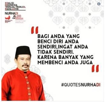 quotes Nurhadi – Aldo viral
