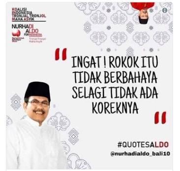 quotes Nurhadi – Aldo partai kebutuhan iman