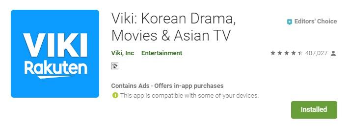aplikasi nonton film korea