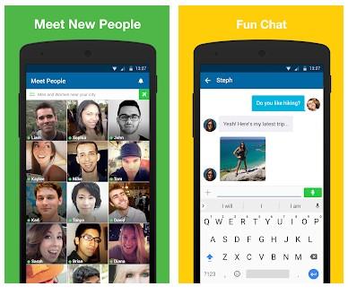 aplikasi chat sama bule