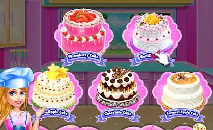 Game Memasak Kue Ulang Tahun Hello Kitty