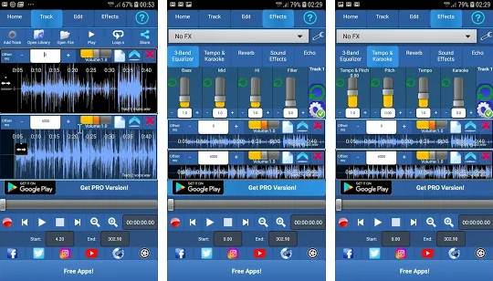 aplikasi edit musik cover lagu