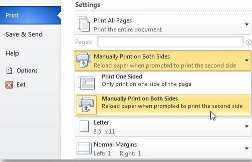cara print bolak balik seperti buku