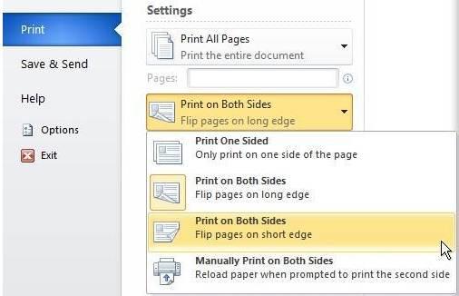 cara print bolak balik ngeprint word 2010 pdf Epson 1310