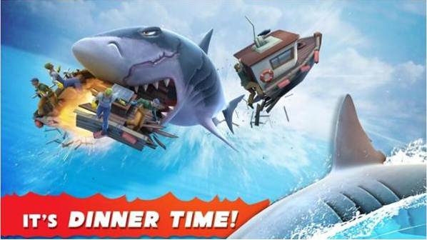 game memancing ikan hiu di laut