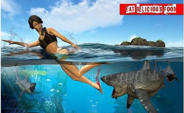 permainan memancing ikan hiu