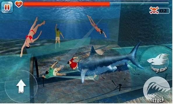 permainan ikan hiu download