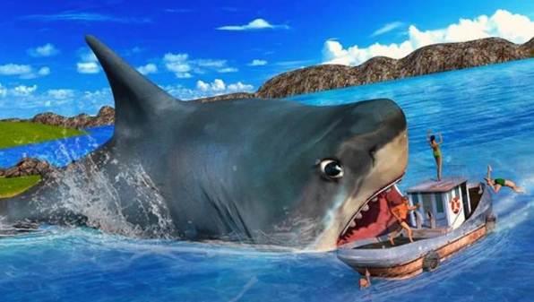 permainan ikan hiu vs paus